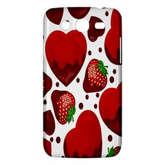 Strawberry Hearts Cocolate Love Valentine Pink Fruit Red Samsung Galaxy Mega 5 8 I9152 Hardshell Case