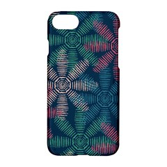 Spring Flower Red Grey Green Blue Apple Iphone 7 Hardshell Case by Alisyart