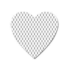 Woman Plus Sign Heart Magnet