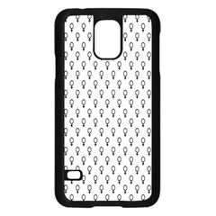 Woman Plus Sign Samsung Galaxy S5 Case (black) by Alisyart