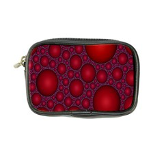 Voronoi Diagram Circle Red Coin Purse by Alisyart