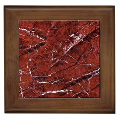 Texture Stone Red Framed Tiles by Alisyart
