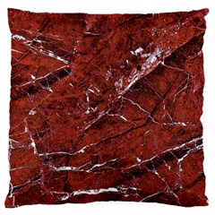Texture Stone Red Standard Flano Cushion Case (one Side) by Alisyart
