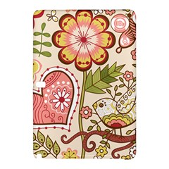 Seamless Texture Flowers Floral Rose Sunflower Leaf Animals Bird Pink Heart Valentine Love Samsung Galaxy Tab Pro 12 2 Hardshell Case