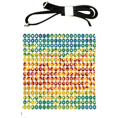 Weather Blue Orange Green Yellow Circle Triangle Shoulder Sling Bags by Alisyart