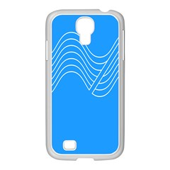 Waves Blue Sea Water Samsung Galaxy S4 I9500/ I9505 Case (white) by Alisyart