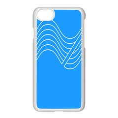 Waves Blue Sea Water Apple Iphone 7 Seamless Case (white) by Alisyart