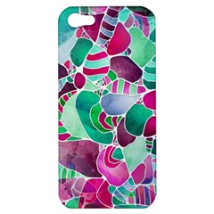 Frosted Sea Glass Apple Iphone 5 Hardshell Case by KirstenStar