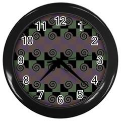 Deco Wall Clocks (black)