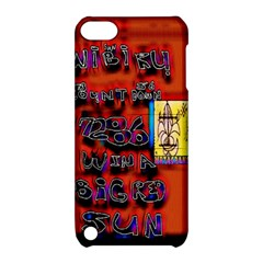 Big Red Sun Walin 72 Apple Ipod Touch 5 Hardshell Case With Stand by MRTACPANS