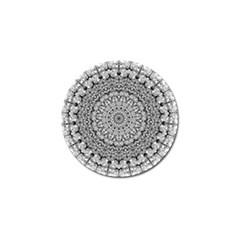 Mandala Boho Inspired Hippy Hippie Design Golf Ball Marker (10 pack) by CraftyLittleNodes