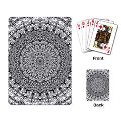 Mandala Boho Inspired Hippy Hippie Design Playing Card by CraftyLittleNodes
