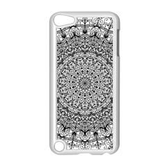 Mandala Boho Inspired Hippy Hippie Design Apple Ipod Touch 5 Case (white) by CraftyLittleNodes