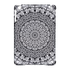 Mandala Boho Inspired Hippy Hippie Design Apple Ipad Mini Hardshell Case (compatible With Smart Cover) by CraftyLittleNodes