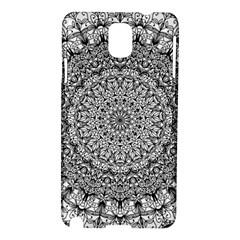 Mandala Boho Inspired Hippy Hippie Design Samsung Galaxy Note 3 N9005 Hardshell Case by CraftyLittleNodes