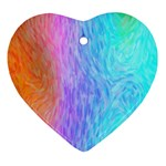 Abstract Color Pattern Textures Colouring Ornament (Heart)