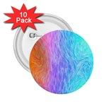 Abstract Color Pattern Textures Colouring 2.25  Buttons (10 pack)