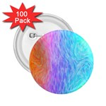 Abstract Color Pattern Textures Colouring 2.25  Buttons (100 pack)