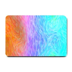 Abstract Color Pattern Textures Colouring Small Doormat