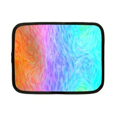 Abstract Color Pattern Textures Colouring Netbook Case (small)