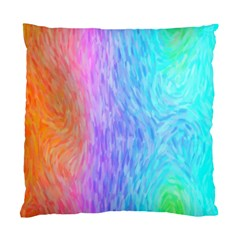 Abstract Color Pattern Textures Colouring Standard Cushion Case (one Side)