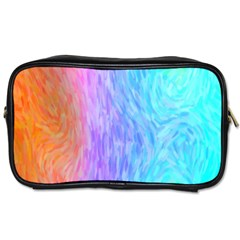 Abstract Color Pattern Textures Colouring Toiletries Bags