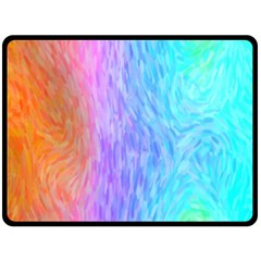 Abstract Color Pattern Textures Colouring Fleece Blanket (large)