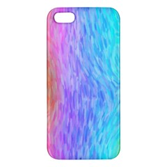 Abstract Color Pattern Textures Colouring Apple Iphone 5 Premium Hardshell Case