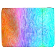 Abstract Color Pattern Textures Colouring Samsung Galaxy Tab 7  P1000 Flip Case