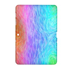 Abstract Color Pattern Textures Colouring Samsung Galaxy Tab 2 (10 1 ) P5100 Hardshell Case