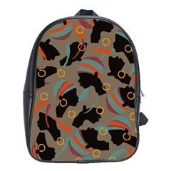 African Women Ethnic Pattern School Bags (xl)