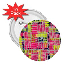 Abstract Pattern 2 25  Buttons (10 Pack)