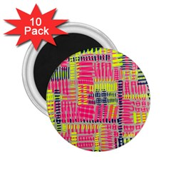Abstract Pattern 2 25  Magnets (10 Pack)