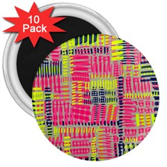 Abstract Pattern 3  Magnets (10 Pack)