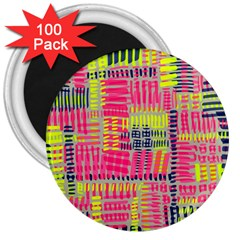 Abstract Pattern 3  Magnets (100 Pack)
