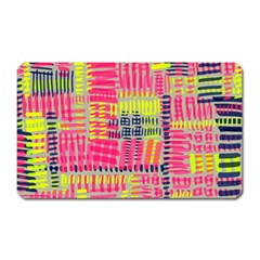 Abstract Pattern Magnet (rectangular)