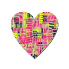Abstract Pattern Heart Magnet