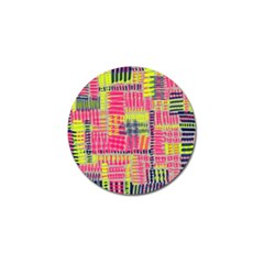 Abstract Pattern Golf Ball Marker