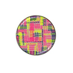 Abstract Pattern Hat Clip Ball Marker