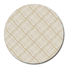 Background Pattern Round Mousepads by Simbadda
