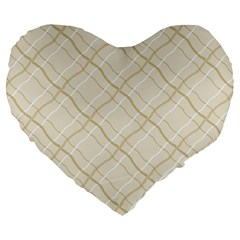 Background Pattern Large 19  Premium Heart Shape Cushions by Simbadda