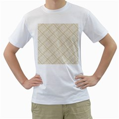 Background Pattern Men s T Shirt (white)