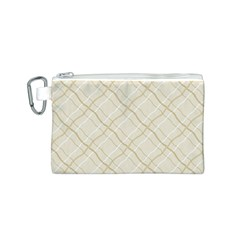 Background Pattern Canvas Cosmetic Bag (s) by Simbadda
