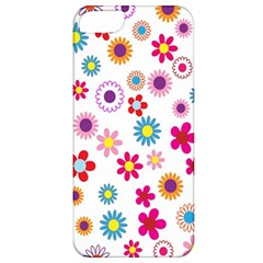 Colorful Floral Flowers Pattern Apple Iphone 5 Classic Hardshell Case