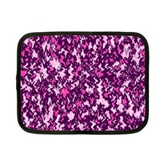 Chic Camouflage Colorful Background Netbook Case (small)  by Simbadda