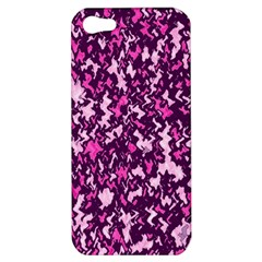 Chic Camouflage Colorful Background Apple Iphone 5 Hardshell Case by Simbadda