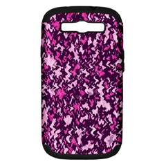 Chic Camouflage Colorful Background Samsung Galaxy S Iii Hardshell Case (pc+silicone) by Simbadda