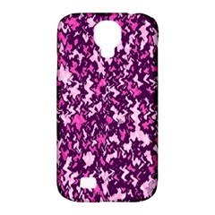 Chic Camouflage Colorful Background Samsung Galaxy S4 Classic Hardshell Case (pc+silicone)