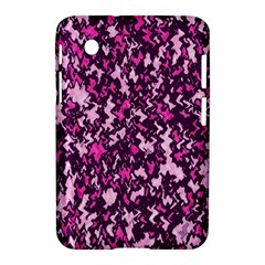 Chic Camouflage Colorful Background Samsung Galaxy Tab 2 (7 ) P3100 Hardshell Case