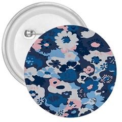 Fabric Wildflower Bluebird 3  Buttons by Simbadda